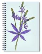 Camas, The Flowers Spiral Notebook