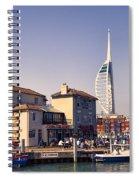 Camber Dock, Old Portsmouth Spiral Notebook