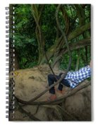 Cambodian Jungle Swing Spiral Notebook
