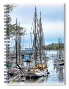 Camden Bay Harbor Spiral Notebook