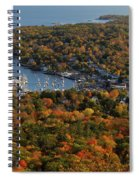 Camden Harbor In The Fall Spiral Notebook