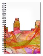 Camden Nj Skyline Spiral Notebook