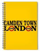 Camden Town Spiral Notebook