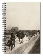 Camel Caravan, C1911 Spiral Notebook
