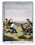 Camel Express, 1857 Spiral Notebook