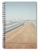 Camel Racing Track In Dubai Spiral Notebook