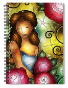 Camellia Lady Spiral Notebook