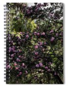 Camellia Tree Spiral Notebook