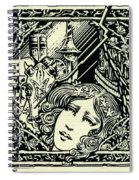 Lancelot And Guinevere Spiral Notebook
