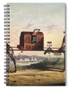 Camels And Litter Spiral Notebook