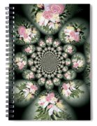 Cameo Bouquet Spiral Notebook