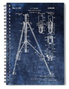 Camera Tripod Patent Spiral Notebook