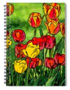 Camille's Tulips Spiral Notebook
