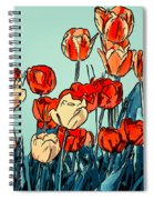 Camille's Tulips - Version 3 Spiral Notebook