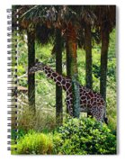 Camouflage Coat Spiral Notebook