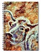 Camouflage Cow Art Spiral Notebook