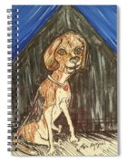 Camp Beagle Spiral Notebook