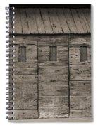 Camp Randall Stockade - Madison Wisconsin Spiral Notebook