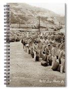 Camp San Luis Obispo Army Base 40th Division Photo 143rd Field Artillery 1941 Spiral Notebook