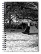 Camp Under Live Oaks Spiral Notebook
