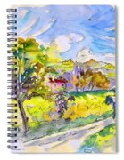 Campagne Des Pyrenees Spiral Notebook