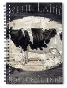 Campagne I French Cow Farm Spiral Notebook