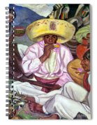 Camping Zapatistas, 1922 Spiral Notebook