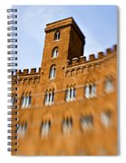 Campo Of Siena Tuscany Italy Spiral Notebook