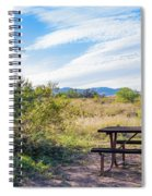 Campsite Deadhorse Az Spiral Notebook