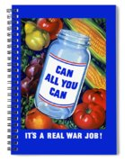Can All You Can -- Ww2 Spiral Notebook