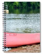 Can You Canoe Spiral Notebook