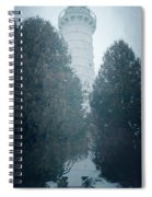 Cana Island Lighthouse Wisconsin Painterly Spiral Notebook