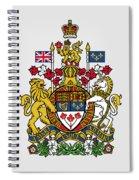 Canada Coat Of Arms Spiral Notebook