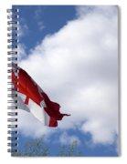 Canada Flag Spiral Notebook
