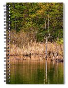 Canada Goose Couple Spiral Notebook