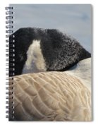 Canada Goose Head Spiral Notebook