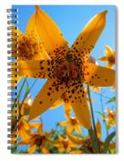 Canada Lily Spiral Notebook