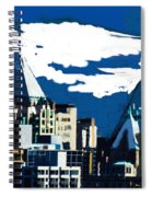 Canada Towers Spiral Notebook