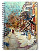 Canadian Art And Canadian Artists Spiral Notebook