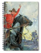 Canadian Mounties Spiral Notebook