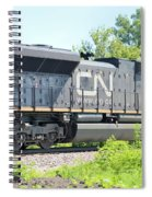Canadian Northern Spiral Notebook