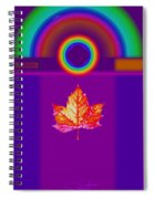 Canadian Palladian Spiral Notebook