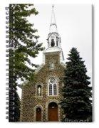Canadian Rural Church Spiral Notebook