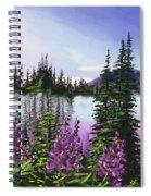 Canadian Sunrise Spiral Notebook