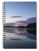 Canadian Sunrise Spiral Notebook
