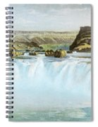 Canadian Water Fall Spiral Notebook