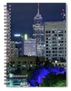 Canal At Night Spiral Notebook