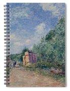 Canal Du Loing-chemin De Halage Spiral Notebook