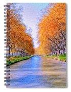 Canal Du Midi Spiral Notebook