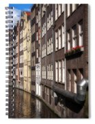 Canal Houses Spiral Notebook